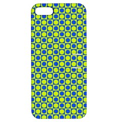 Friendly Retro Pattern C Apple iPhone 5 Hardshell Case with Stand