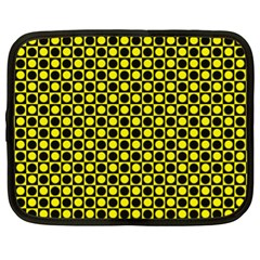 Friendly Retro Pattern I Netbook Case (xl)