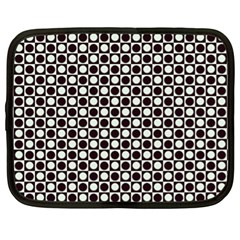 Friendly Retro Pattern H Netbook Case (xl)