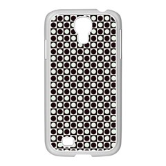 Friendly Retro Pattern H Samsung GALAXY S4 I9500/ I9505 Case (White)