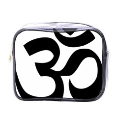 Hindu Om Symbol  Mini Toiletries Bags