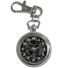 Skulls Pattern Key Chain Watches