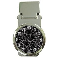 Skulls Pattern Money Clip Watches