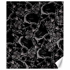 Skulls Pattern Canvas 20  X 24