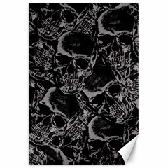 Skulls Pattern Canvas 20  X 30