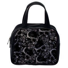 Skulls Pattern Classic Handbags (one Side)