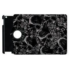 Skulls Pattern Apple Ipad 3/4 Flip 360 Case