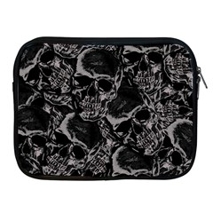 Skulls Pattern Apple Ipad 2/3/4 Zipper Cases
