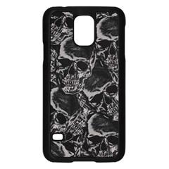 Skulls Pattern Samsung Galaxy S5 Case (black)