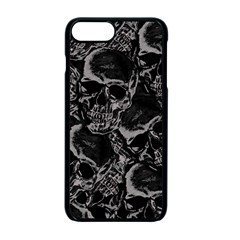Skulls Pattern Apple Iphone 7 Plus Seamless Case (black)