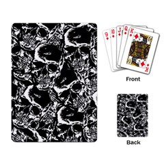 Skulls Pattern Playing Card