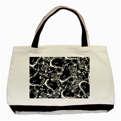 Skulls Pattern Basic Tote Bag (two Sides)