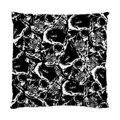 Skulls Pattern Standard Cushion Case (two Sides)