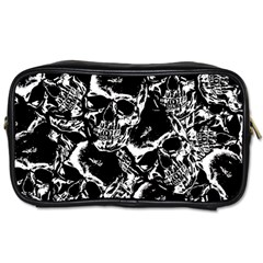 Skulls Pattern Toiletries Bags 2 Side