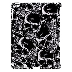 Skulls Pattern Apple Ipad 3/4 Hardshell Case (compatible With Smart Cover)