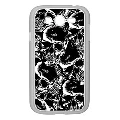 Skulls Pattern Samsung Galaxy Grand Duos I9082 Case (white)