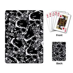 Skulls Pattern Playing Card