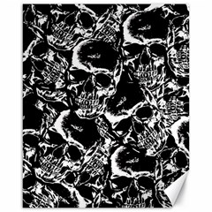 Skulls Pattern Canvas 16  X 20