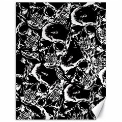 Skulls Pattern Canvas 18  X 24