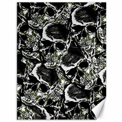 Skulls Pattern Canvas 36  X 48