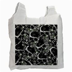 Skulls Pattern Recycle Bag (one Side)