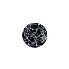 Skulls Pattern 1  Mini Buttons