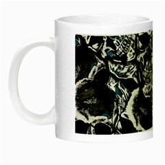 Skulls Pattern Night Luminous Mugs