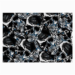 Skulls Pattern Large Glasses Cloth (2 Side)