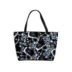 Skulls Pattern Shoulder Handbags
