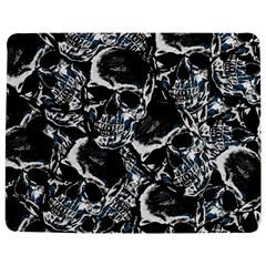 Skulls pattern Jigsaw Puzzle Photo Stand (Rectangular)