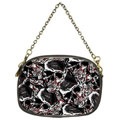 Skulls Pattern Chain Purses (one Side)