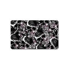 Skulls Pattern Magnet (name Card)