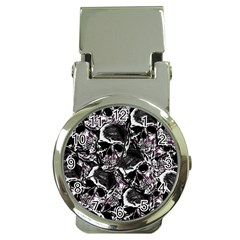 Skulls Pattern Money Clip Watches