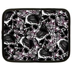 Skulls Pattern Netbook Case (xl)
