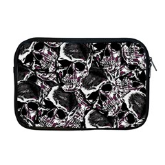 Skulls Pattern Apple Macbook Pro 17  Zipper Case