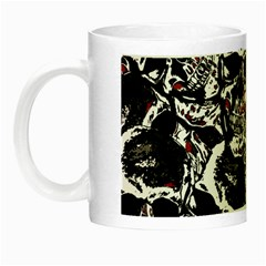 Skull Pattern Night Luminous Mugs