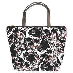 Skull Pattern Bucket Bags