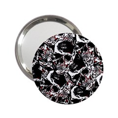 Skull Pattern 2 25  Handbag Mirrors