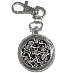 Skull Pattern Key Chain Watches