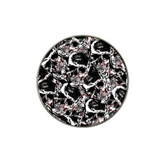 Skull Pattern Hat Clip Ball Marker (10 Pack)