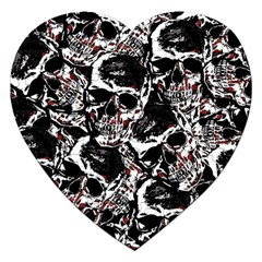 Skull Pattern Jigsaw Puzzle (heart)