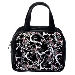 Skull Pattern Classic Handbags (one Side)