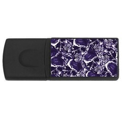 Skull Pattern Usb Flash Drive Rectangular (4 Gb)