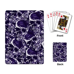 Skull Pattern Playing Card