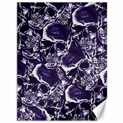 Skull Pattern Canvas 36  X 48