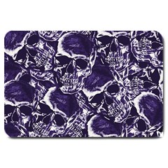 Skull Pattern Large Doormat