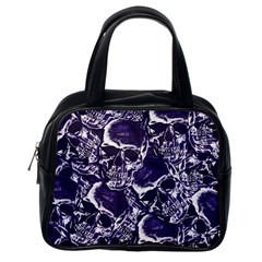 Skull Pattern Classic Handbags (one Side)