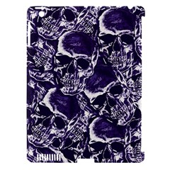 Skull pattern Apple iPad 3/4 Hardshell Case (Compatible with Smart Cover)
