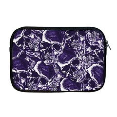 Skull Pattern Apple Macbook Pro 17  Zipper Case