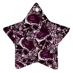 Skull Pattern Ornament (star)